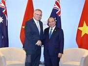 澳大利亚总理即将对越南进行正式访问:促进两国关系走向深入