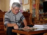 泰族文字的传承者岑文平