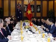越南政府总理阮春福与澳大利亚总理斯科特•莫里森举行会谈