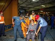 印尼东爪哇省一渡轮失火已致4人死亡30多人失踪