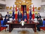 澳大利亚总理圆满结束对越南进行的正式访问