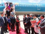 阮氏金银抵达曼谷 开始出席AIPA 40和正式访泰之旅