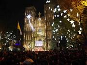 越南全国各地喜迎圣诞节(组图)