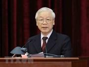 越共中央总书记、国家主席阮富仲:党强大  国家发展   民族永存