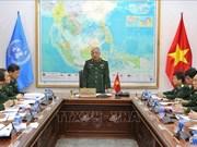 越南为派遣工兵队参加联合国维和行动做出积极准备