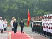 文莱达鲁萨兰国苏丹哈吉•哈桑纳尔•博尔基亚对越南进行国事访问(组图)