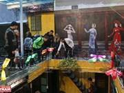 河内独特的环保咖啡店馆(组图)
