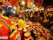 河内行马街喜迎中秋节(组图)