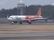 越捷航空公司飞往日本的5条新航线开通