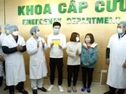 组图:在越南的六名新冠肺炎患者已治愈出院