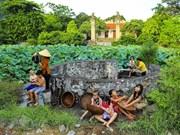 组图:保留着越南乡村灵魂的华闾古都古井