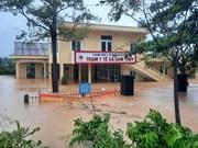 组图:广治省多地被洪水淹没