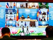 组图:东盟防务高官扩大会议工作组会议以视频方式召开