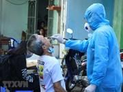 组图:胡志明市对新冠肺炎患者密切接触者进行检测