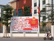 组图:河内市加强宣传力度 响应第十五届国会代表选举活动