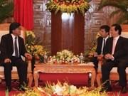 越南政府总理接见日本大使