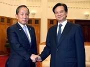 阮晋勇总理接见印度与韩国国防部部长