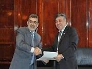 越通社与阿根廷通讯社加强双边合作