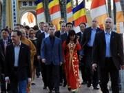 俄媒体高度评价俄国总统访越成果