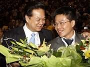 阮晋勇总理会见吴宝珠教授