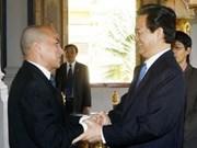 阮晋勇总理对柬埔寨进行正式访问