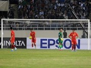 越南足球队以0:2输于菲律宾足球队