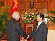 政府总理会见美国驻越大使