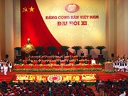 越南共产党十一大成功开幕