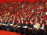 参与党十一大的代表继续发表讲话