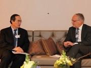 越南为2011年世界经济论坛做出积极贡献