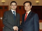 越南—塞尔维亚加强合作关系