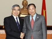 政府副总理范家谦会见亚洲开发银行行长