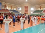西贡解放报华闾杯国际男子排球比赛开幕