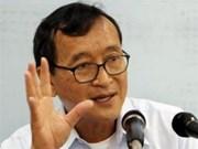 柬埔寨最高法院做出维持原判对被告Sam Rainsy的裁决
