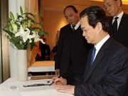 越南竭尽全力与日本克服自然灾害的后果