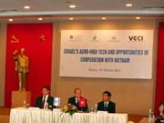 越南与以色列合作发展现代化农业