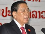 越南领导致电祝贺朱马里·赛雅颂同志连任老挝人民革命党总书记