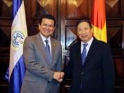 萨尔瓦多外交部长访问越南
