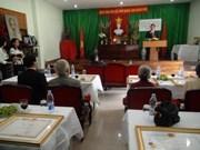 国家海外越南人委员会代表团访问泰国