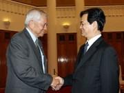 越南政府总理会见菲律宾外交部长
