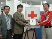 越南继续向日本灾民提供帮助