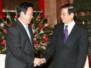 越南国家主席会见中国最高人民法院院长