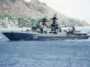 俄罗斯军舰访问新加坡和印度尼西亚