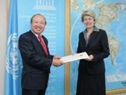 越南希望UNESCO继续协助保留及发挥自然和文化遗产的价值