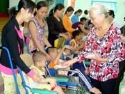 旅居俄罗斯越南人积极参加帮助橙毒剂受害者的捐款活动