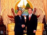 老挝领导会见越南公安部高级代表团