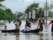 自然灾害给亚洲一些国造成严重损失