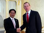 越南和英国举行第一次战略对话