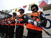 中老缅泰四国在湄公河进行联合巡逻