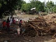 热带风暴天鹰突袭菲律宾导致400多人死亡